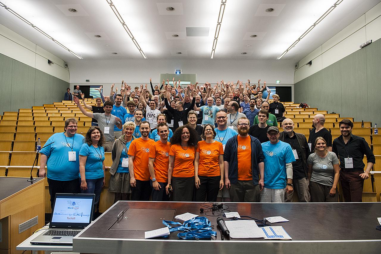 Gruppenbild WordCamp Hamburg